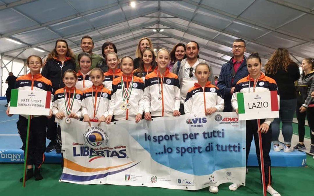 Ottimi risultati con lo scopo di le atlete a motivo di Asd Free Spasso Viterbo e Ssd le Cartiere Ronciglione