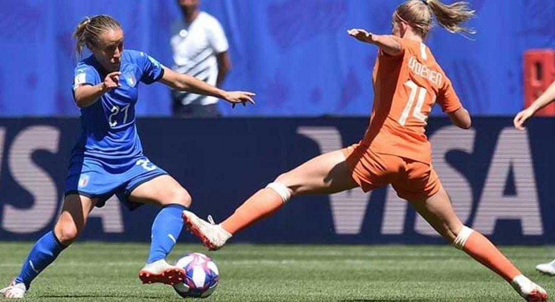 Mondiali femminili, l'Italia è