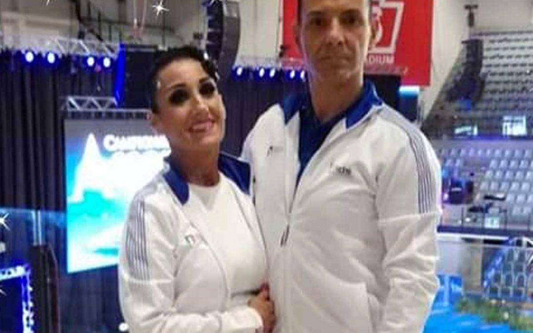 Messaggero celeste Buzzi e Alessandra Lanzi ai mondiali durante intrigo sportiva